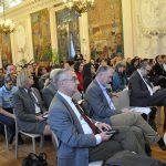Plénière dans la salle des fêtes de l'Hôtel de ville de Reims