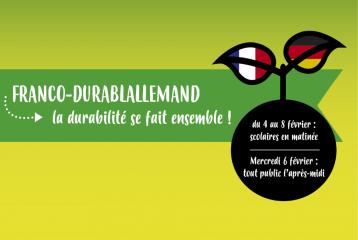 Franco-durablallemand : la durabilité se fait ensemble !