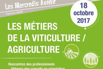 Les Mercredis Avenir : Les Métiers de la Viticulture et de l'Agriculture