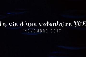 3 secondes par jour - La vie d'une volontaire SVE en novembre