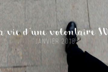 2 secondes par jour - La vie d'une volontaire européenne - Janvier