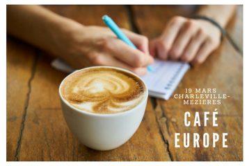 """Café Europe """"Les jeunes et l'Europe. Perspectives et opportunités"""" - Charleville-Mézières"""